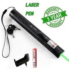 2 em 1 de alta potência ponteiro laser verde caça vermelho roxo poderoso laser queima fósforos dispositivo foco ajustável lazer 303 caneta