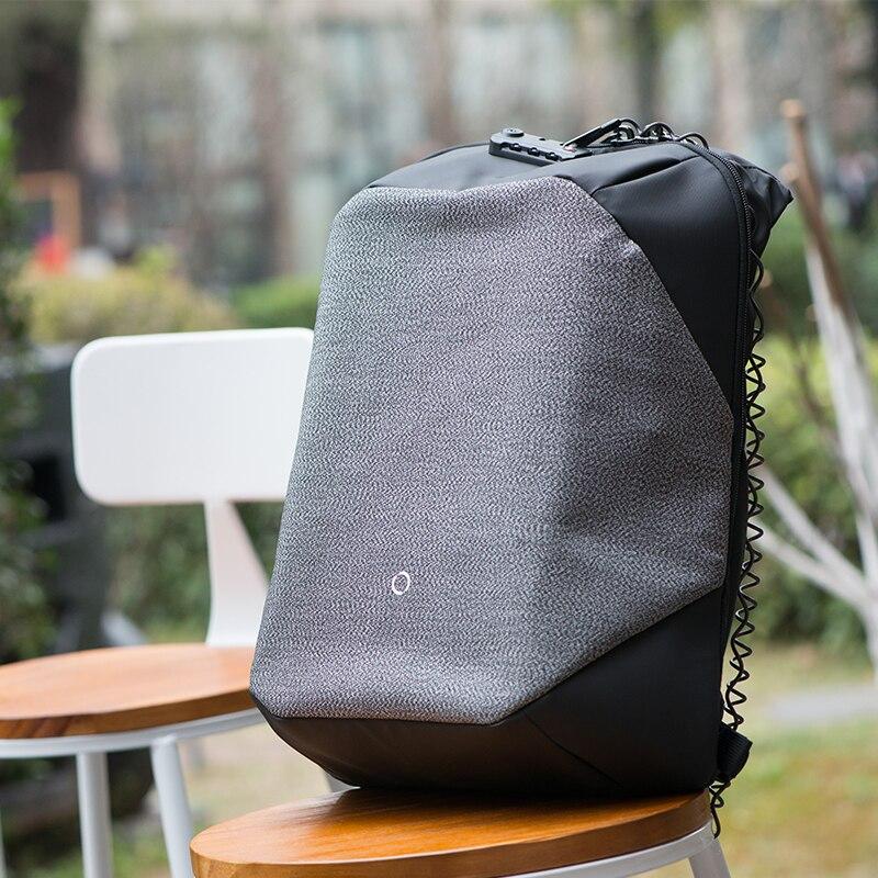 Korin el diseño ClickPack Pro Anti corte Anti ladrón Mochila De laptop para hombres mochila 15,6 pulgadas bolsas para la escuela de los niños - 5