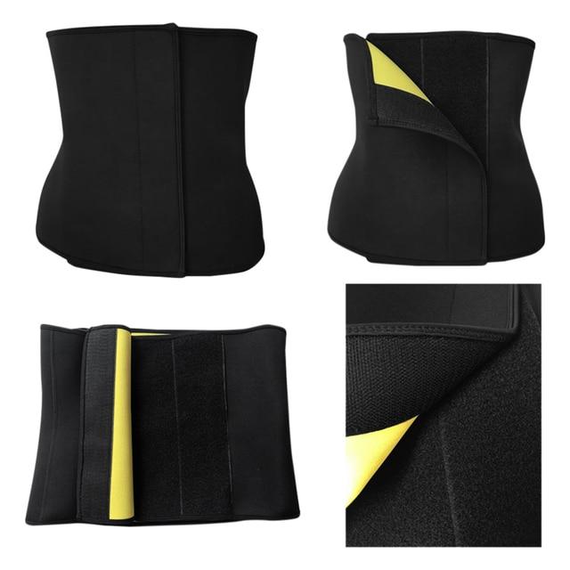 Slimming Shapewear Shirt Sweat Women Fitness Body Shaper Vest Sports Yoga Top Slimming Sweat Belly Belt Body Shaper 4