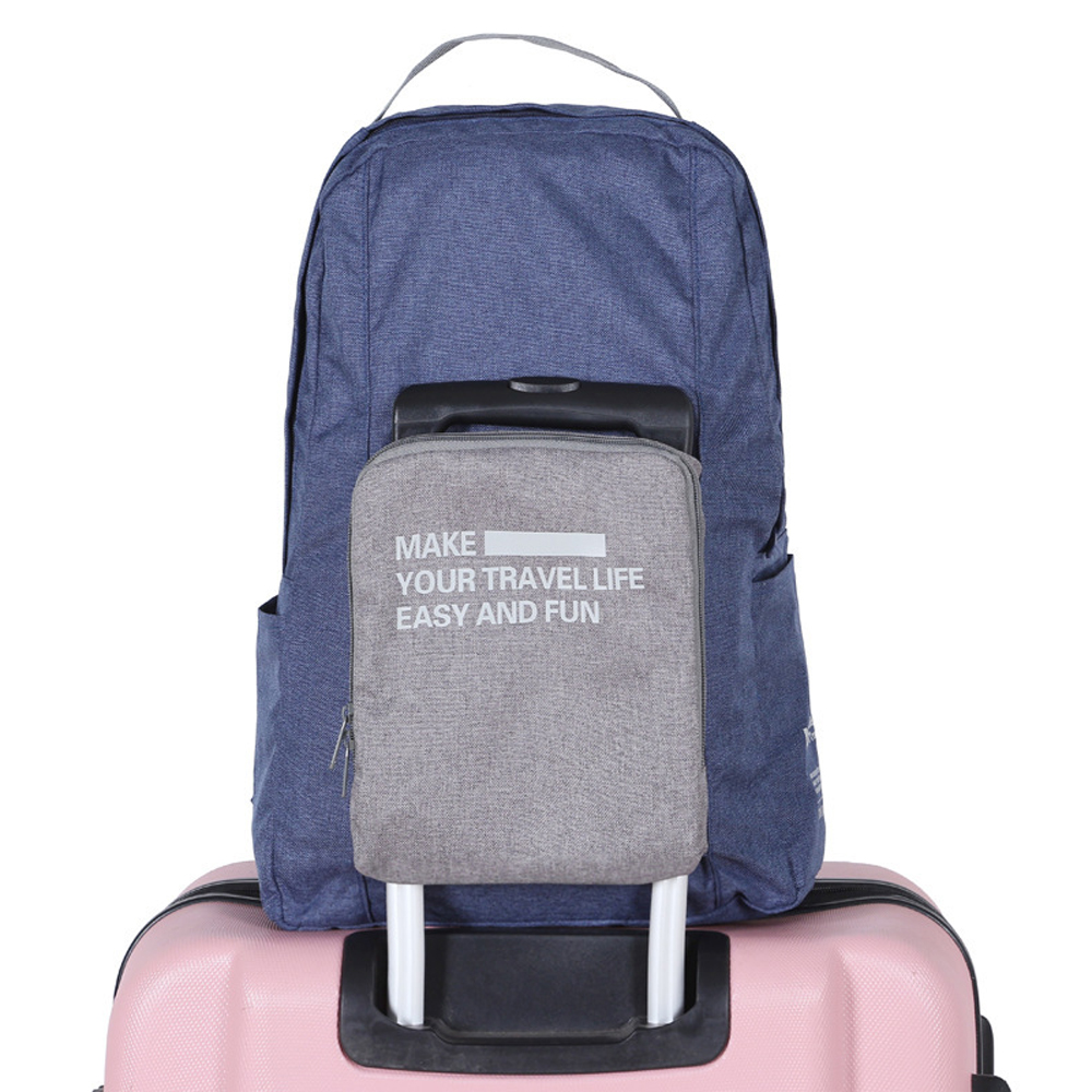 Folding Backpack Water Resistant Gym Bag Foldable Sports Backpack For Business Travel School Camping