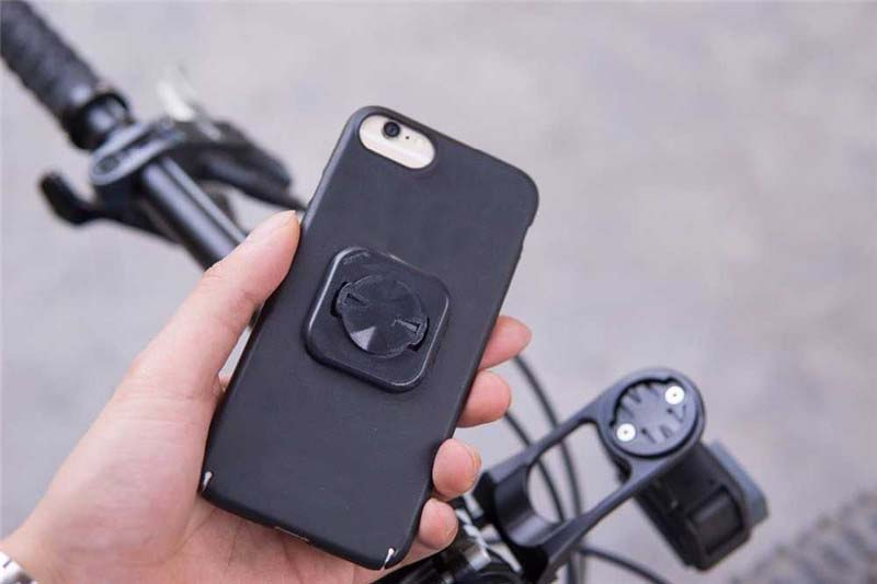 Bicycle Mobile Phone Bracket Holder Made With Plastic Material