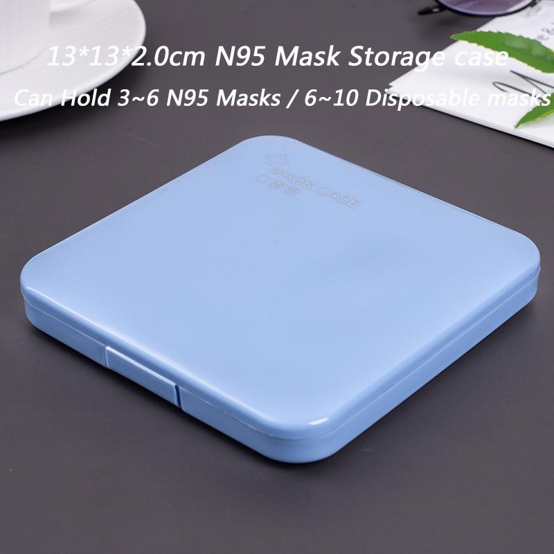 N95 Square Blue