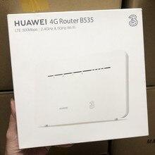 Desbloqueado huawei 4g roteador 3 pro b535 lte cat7 wifi roteador 4g lte roteador sem fio com slot para cartão sim lan/wan porto