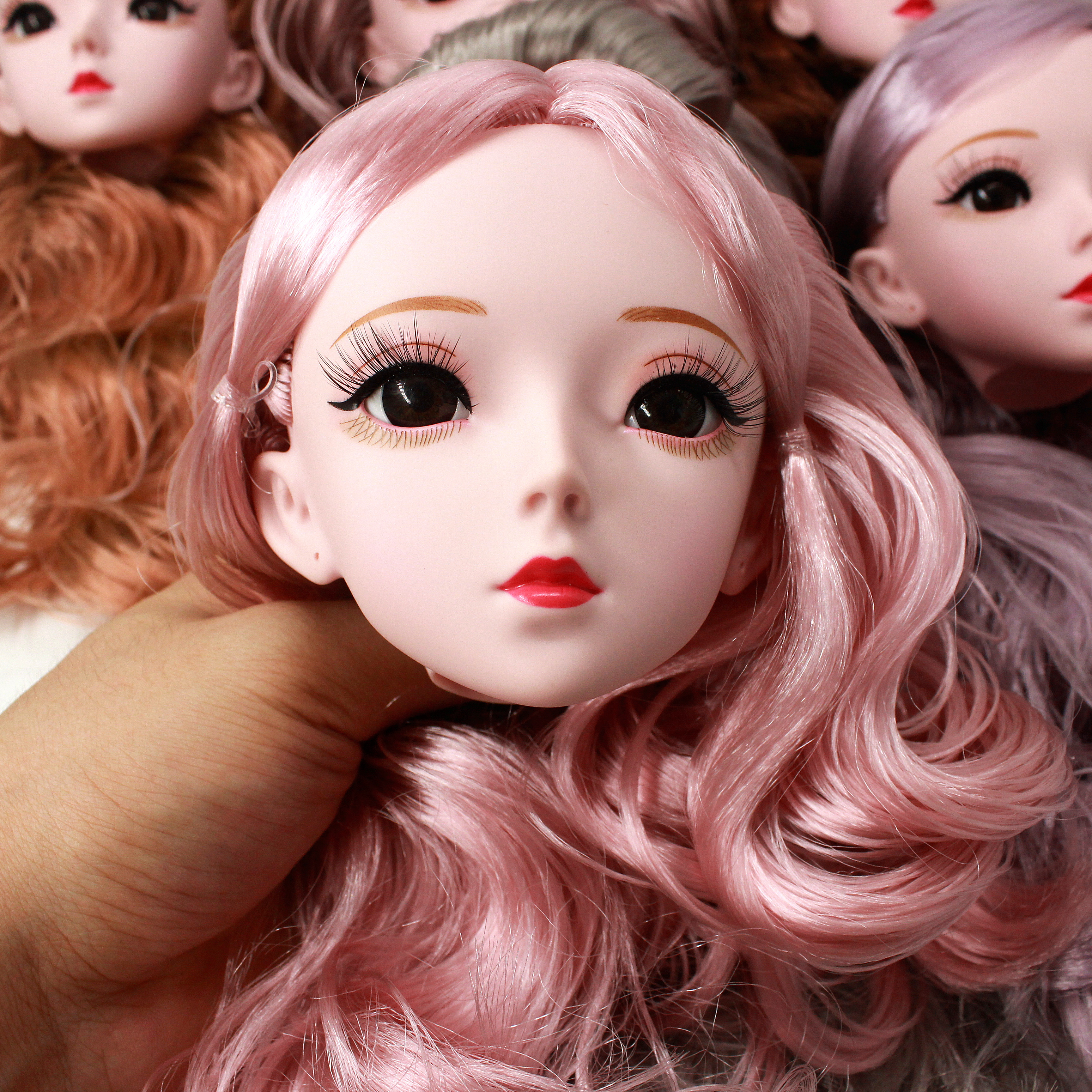 22joints Black Eyes 60cm Bjd Doll With Clothes Nude Body With Makeup Dolls For Girls Gift