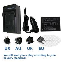 Baterii DMW-BCG10e + ładowarka dla Panasonic DMC-TZ6 DMC-TZ7 DMC-TZ8 DSC-TZ65 DMC-3D1, TZ6, TZ7, TZ8, TZ9 DMW-BCG10E