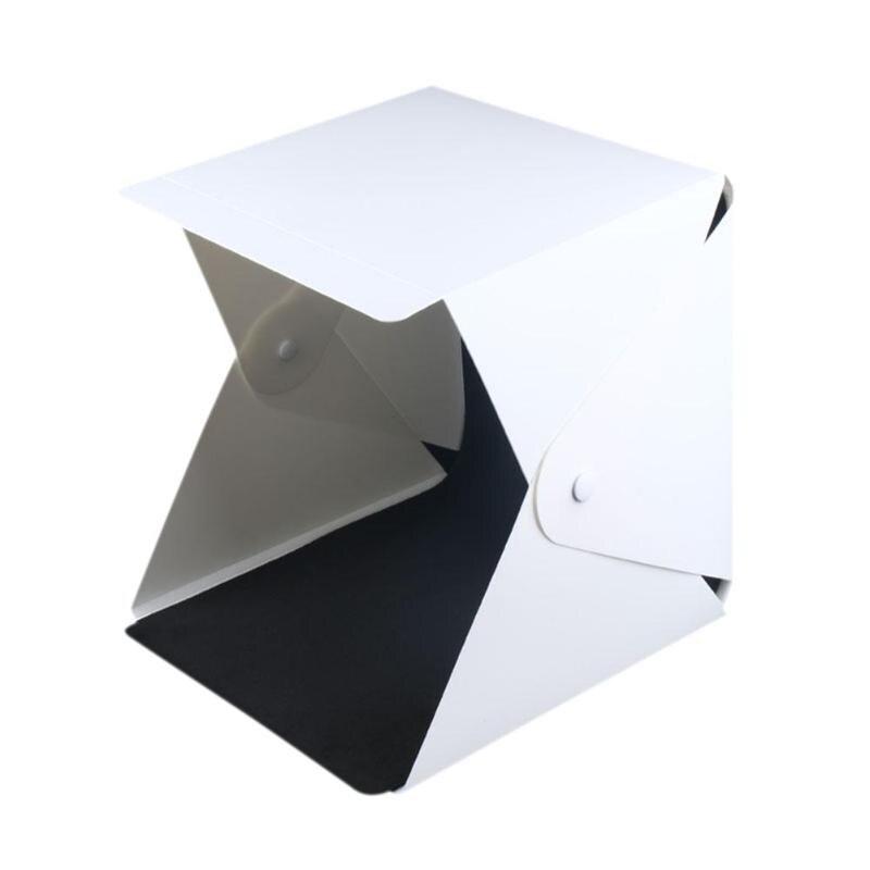 Portable LED Mini 20 cuentas fotografía foto Lightbox estudio Softbox para cámara adecuado para disparar teléfonos móviles artesanías Envío Gratis: grande 200*250 Cm/79 * 99in negro 3D DIY Árbol de la foto PVC calcomanías de pared/adhesivos de la familia Mural arte decoración del hogar