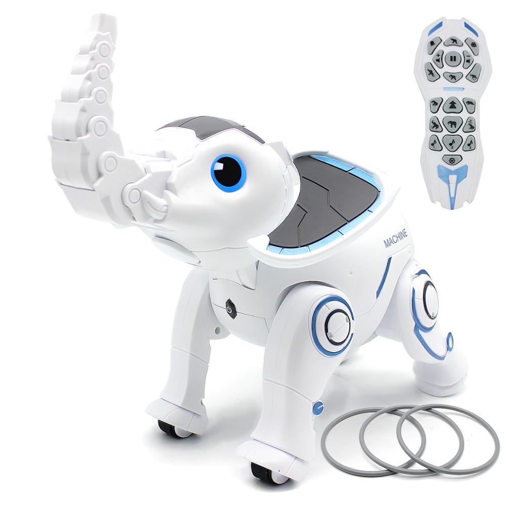 controle remoto elefante rc robo interativo criancas brinquedo cantando danca elefante robo inteligente educacao precoce brinquedo