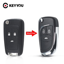 Модифицированный Корпус для автомобильного ключа с дистанционным управлением для Chevrolet Cruze, Epica, Lova, Camaro, для Opel, Vauxhall, Insignia, Astra, Mokka, для Buick