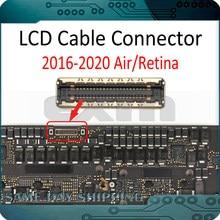 Nuevo LCD conector de Cable para reparación de la placa base para Macbook Pro/Retina aire A2141 A2251 A2179 A1932 A1989 A1990 A1706 A1707 A1708