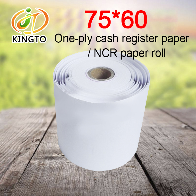 Factory Supply Carbonless Ncr Paper In Rolls For POS Printers