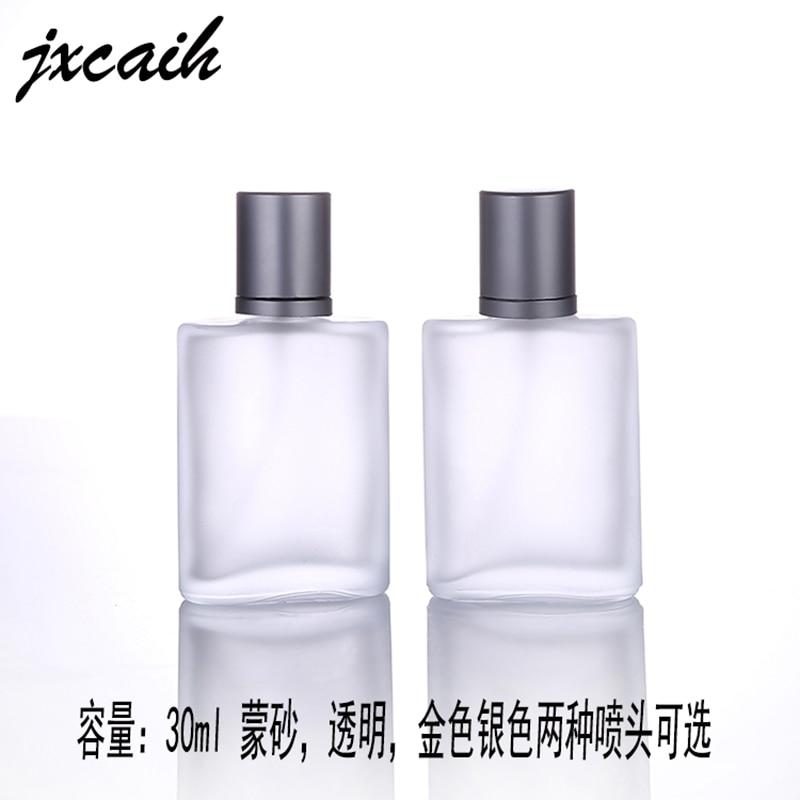 1 шт. 30 мл 50 мл 100 мл Прозрачный матовый Стекло бутылкы парфюмерного спрея многоразовый косметический контейнер