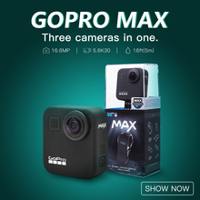 New Sale Gopro MAX 360 Action Camera Outdoor Sports Waterproof Camera Live Streaming HyperSmooth MAX VS Insta360 ONE X