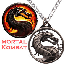 Fashion Vintage Charm Game Mortal Kombat Keychains Accessori
