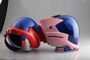 Image 5 - Аниме EVANGELION EVA шлем Asuka Langley Soryu шлем Ayanami Rei Акриловая Маска Косплей Хэллоуин реквизит