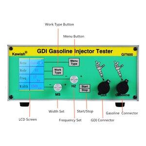 Image 2 - Neueste GIT600 GDI/FSI benzin injektor tester benzin injektor tester auto injektor tester Benzin Direct Injection tester
