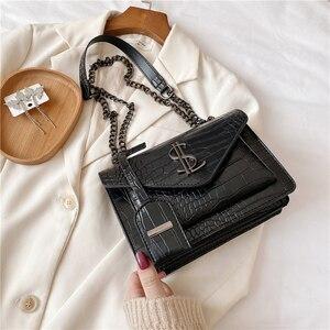 Image 3 - Luxury Handbags Famous Brand Women Bags Designer Lady Classic Plaid Shoulder Crossbody Bags Leather Women Messenger handbags