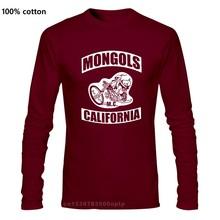 MONGOLS MC Californie Australie Logo Moto Club T-Shirt Noir Taille S-3XL