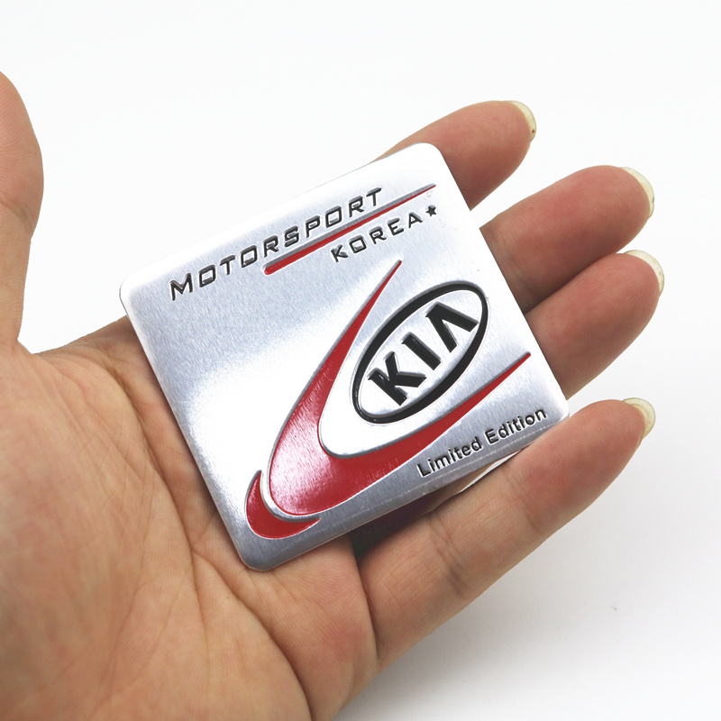 Car Styling 3D Metal Development Limited Edition Sticker Emblem Decal For Kia Ceed Rio Sportage R K3 K4 K5 Ceed Sorento Cerato