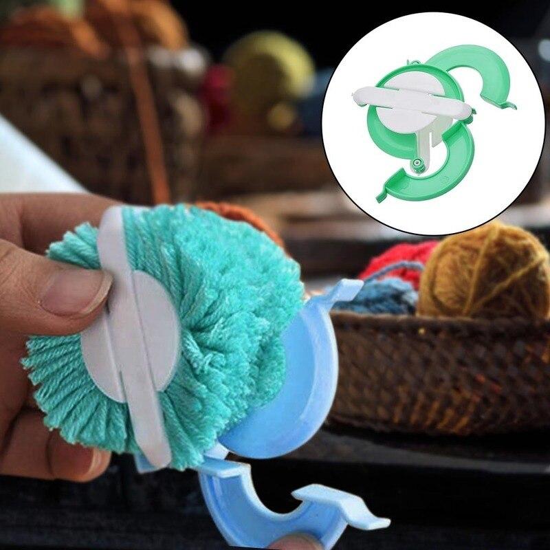 1 шт. помпон чайник 4 размера Эфирное помпон чайник и майка с помпонами, ткацкая игла ремесло Homen