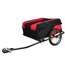 Прочный легкий складной велосипед Грузовой Собака Pet велосипедный прицеп металлический сплав переносит 40 кг светоотражающие полосы