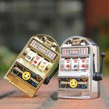 1 шт. счастливый джекпот мини-разъем машина антистресс Развивающие игрушки для детей игры подарки на день рождения Дети безопасная машина банк Реплика