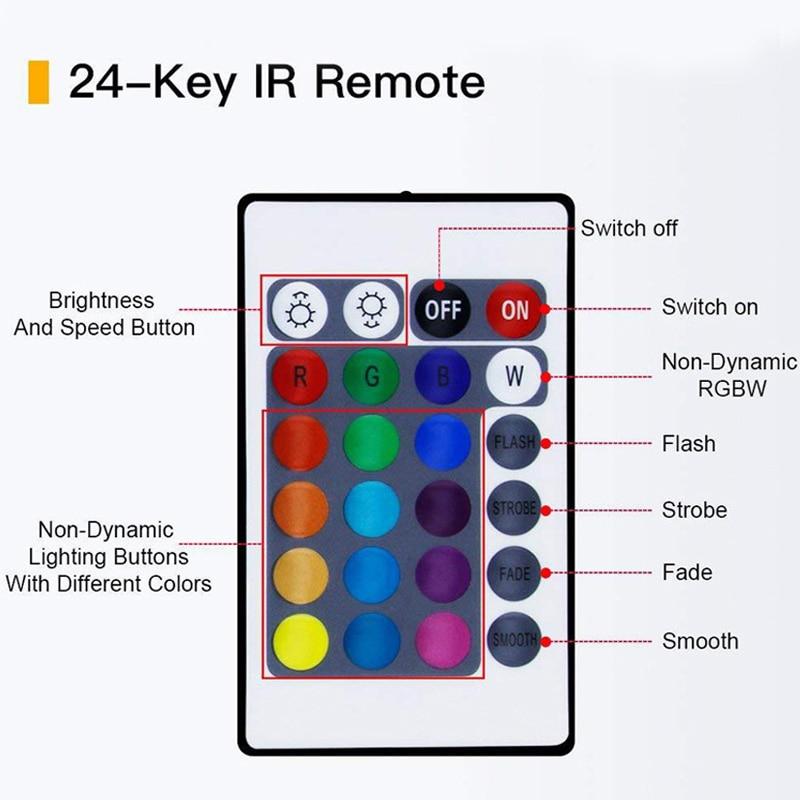 32.8Ft (10M) Smart WIFI RGB LED Light SMD 2835 RGB Waterproof Flexible 12V Power Supply Color Changing LED Strip Tape Full Set (62)