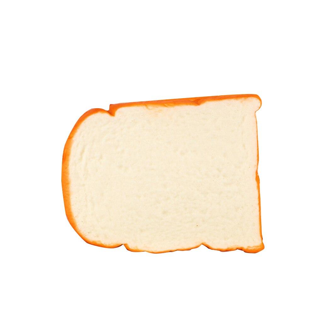 Ручная Подушка подарки кухонные игрушки Мягкая фотография Реквизит миниатюрный аромат дети декоративные нарезанные тосты орнамент имитационный хлеб