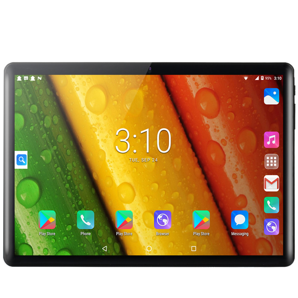 2020 Best-selling 10.1 inch 3G Phone Call Tablet Pc Android 9.0 Quad Core Google Play BDF Brand Dual SIM Cards WiFi Tablets 10