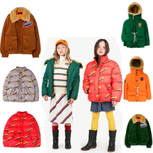 Fashion Jacket For Boys Down Girls Winter Coat Girl Wool  Toddler Clothes Kids Christmas
