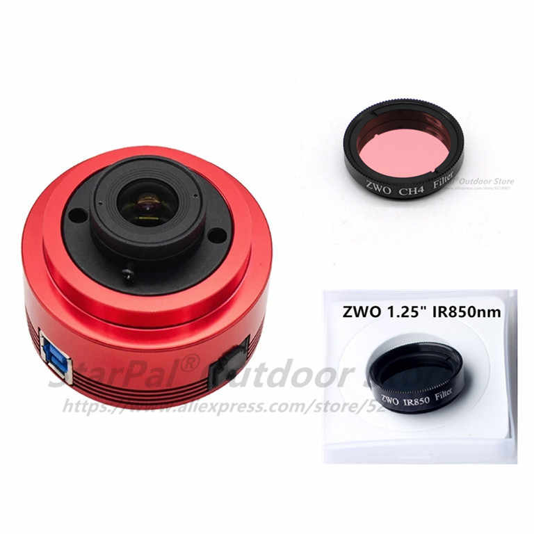Набор ZWO ASI462MC ASI462MC (цвет) ASI 462MC ASI 462 MC ASI462MC + CH4 + IR850nm фильтр-переходник