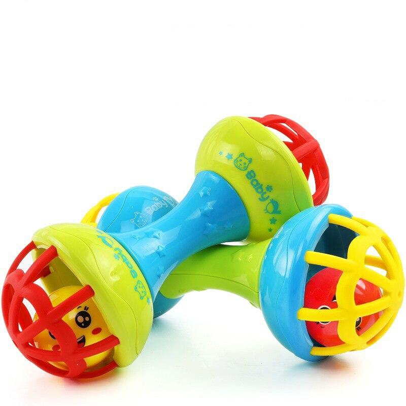 Bébé apaiser cloche main saisir balle jouet nouveau-né bébé premiers jouets enfance éducatif 0-12 mois WJ600