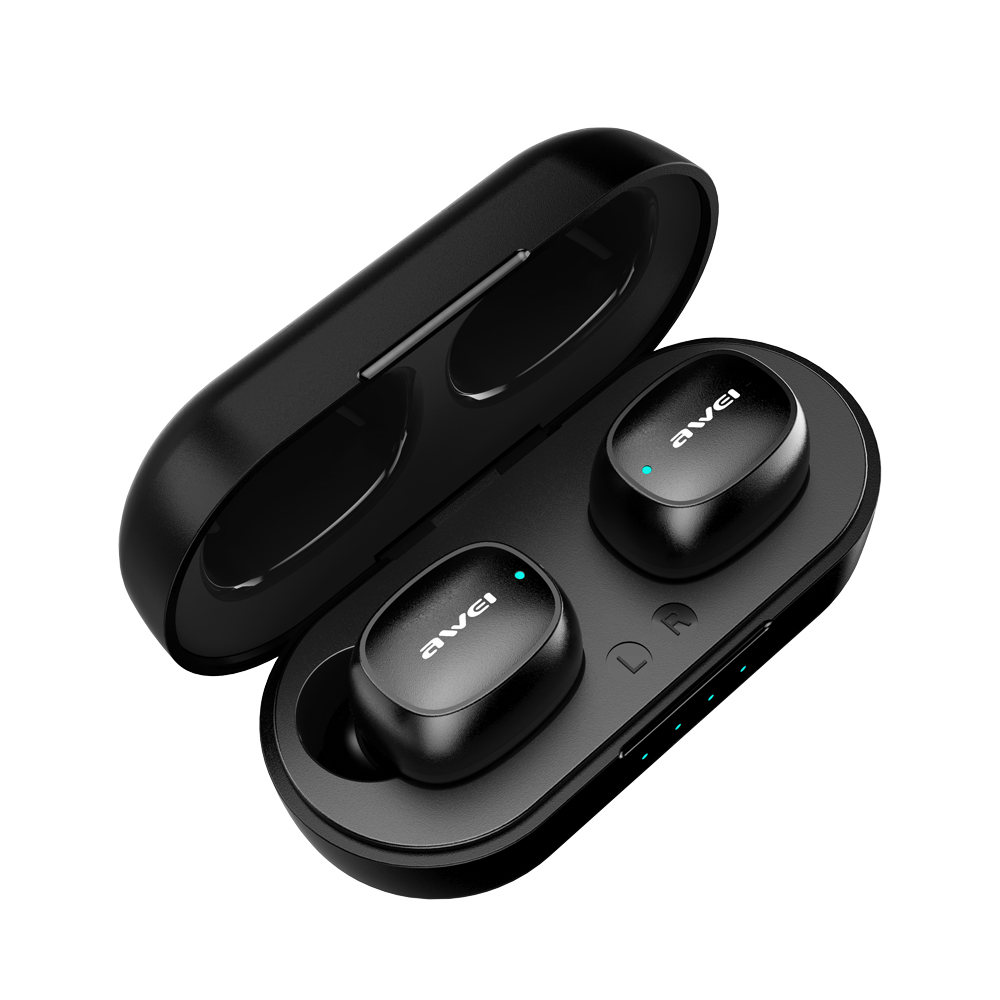 cheapest AWEI T13 TWS HiFi Sport Earbuds Bluetooth 5 0 True Wireless Stereo Headphone Fast Pairing Touch Sensor Siri Music Earphone