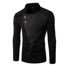 Новинка 2020 мужская куртка с воротником стойкой пальто в стиле