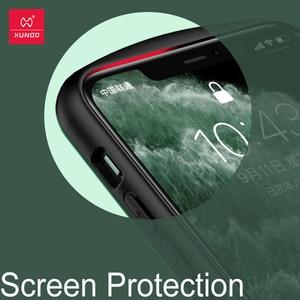 Image 2 - Xundd 보호 케이스 iPhone 11 Pro Max Shookproof 투명 범퍼 매트 케이스 에어백 통기성 벤트 게임 케이스 포함