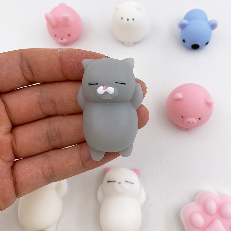 Soft Animal Toy Juicer Mochi Increase Stress Aberrant Ball Soft Sticky Cute Funny Gift