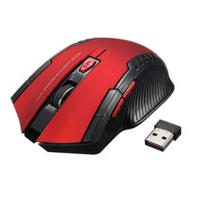 2.4G Hz Wireless Optical Mouse Gamer Permainan Baru Tikus Nirkabel dengan USB Receiver Mause untuk PC Laptop Gaming(China)
