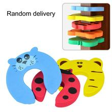 Baby Child Proofing Door Stoppers Finger Safety Guard(China)