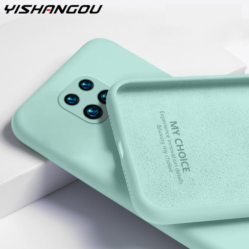 Candy Color Liquid Silicone Case For Xiaomi Redmi Note 9 8 Pro 9s 8T 7 9A 8A 7A Poco X3 NFC Mi 10T Pro Soft Silicone Back Cover|Phone Case & Covers| - AliExpress
