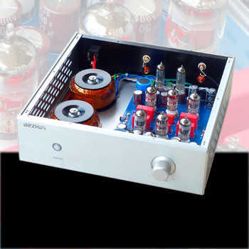 Finished Hifi 12AX7 Tube preamp stereo AMP base on Classic France JP200 preamplifier
