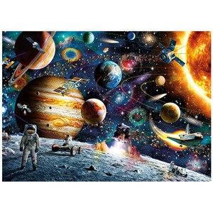 Image 5 - Головоломки 1000 штук для взрослых, космическое путешествие 1000 штук Puzle Brain Pazzle Toy Puzzle
