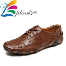 Мужская повседневная обувь; Летняя мужская обувь с отверстиями;