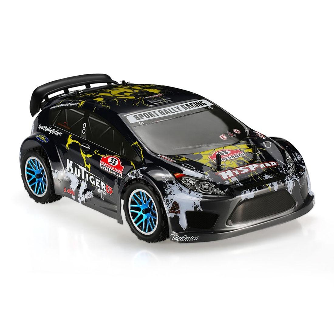 HSP 94118PRO 1:10 4WD électrique Brushless haute vitesse tout-terrain rallye Racing 2.4G sans fil RC modèle voiture (couleur aléatoire de la coque de voiture)