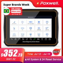 Foxwell GT60 OBD2 profesjonalne narzędzie diagnostyczne do samochodów pełny układ w ABS SRS DPF EPB 19 Reset usługi ODB2 OBD2 skaner samochodowy