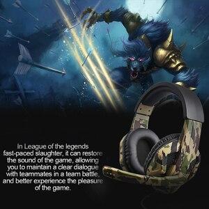 Image 4 - 3.5Mm Mới Ngụy Trang Tai Nghe Game Thủ Chuyên Nghiệp Stereo Gắn Đầu Tai Nghe Máy Tính Tai Nghe Nhét Tai Cho PS4 PS3 Xbox Công Tắc