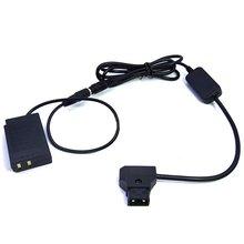 P-Tap D-Tap Power Cable + EP-5E DC Coupler / EN-EL22 dummy battery for Nikon 1 J4 S2 1J4 1S2 1-J4 1-S2 Digital Cameras