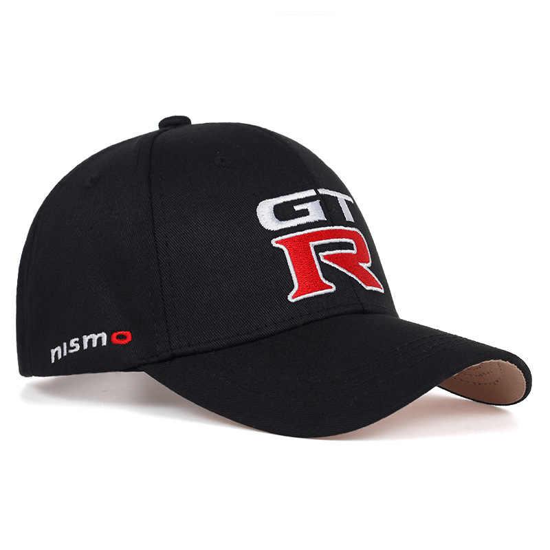 2019 nieuwe Nissan GTR racing cap sport motorfiets baseball caps GTR gebogen hip hop hoeden mode Outdoor verstelbare vader hoed