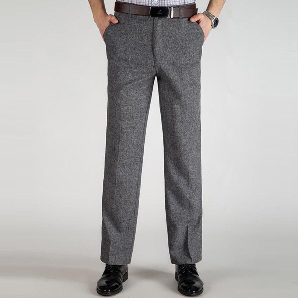 2020 Autumn New Men's Suit Pants Men Dress Pants Fashion Trousers Straight Business Mans Formal Work Pants Plus Size Trousers