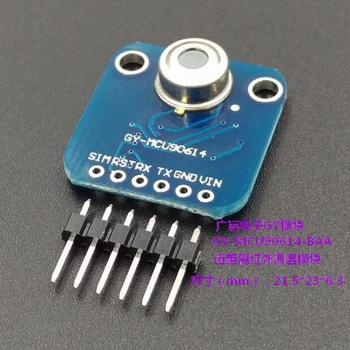 GY-MCU90614-BAA serial port IR non-contact, infrared temperature measurement module MLX90614-BAA