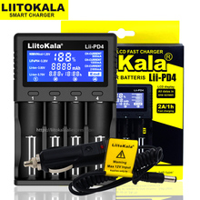 Liitokala Lii 500 Lii PD4 Lii S6 Lii 500S 18650 21700 26650 AA AAA ل 18350 18500 16340 17500 25500 10440 17350 بطارية شاحن