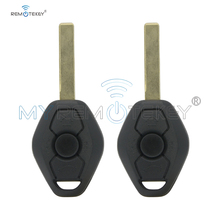 Remtekey 2pcs Car Remote Key DIY for BMW EWS X3 X5 Z3 Z4 1 3 5 7 Series Keyless Entry Transmitter EWS system 315MHZ 3 button key